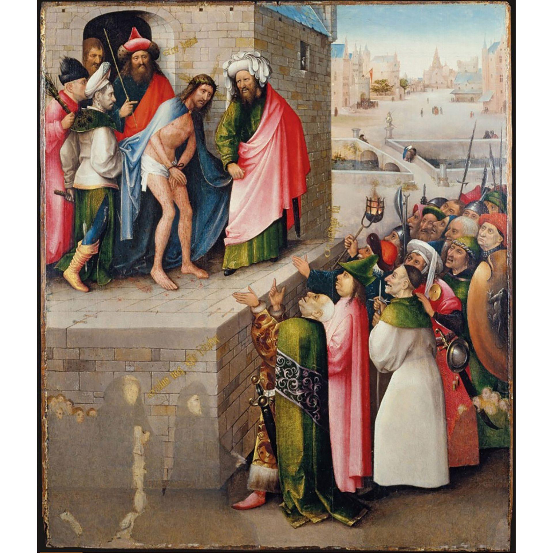MAÎTRE DU TRIPTYQUE SALOMON (actif en Zélande vers 1520) - Bild 3 aus 3