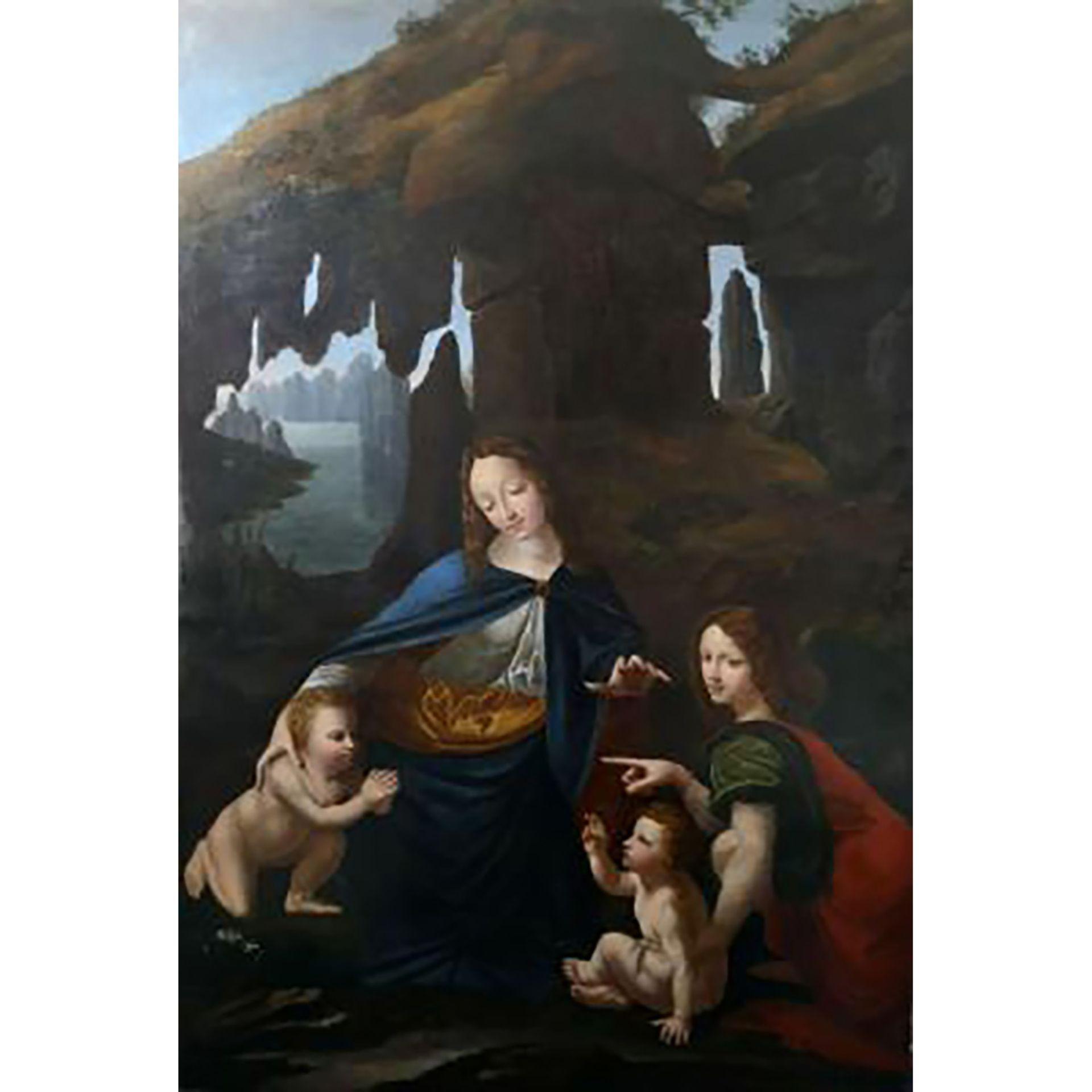 ÉCOLE FRANÇAISE VERS 1630, SUIVEUR DE Léonard de Vinci - Bild 5 aus 5