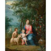 PIETER VAN AVONT (MALINES 1600-ANVERS 1652) ET ATTRIBUÉ À JAN BRUEGHEL II (1601-1678)