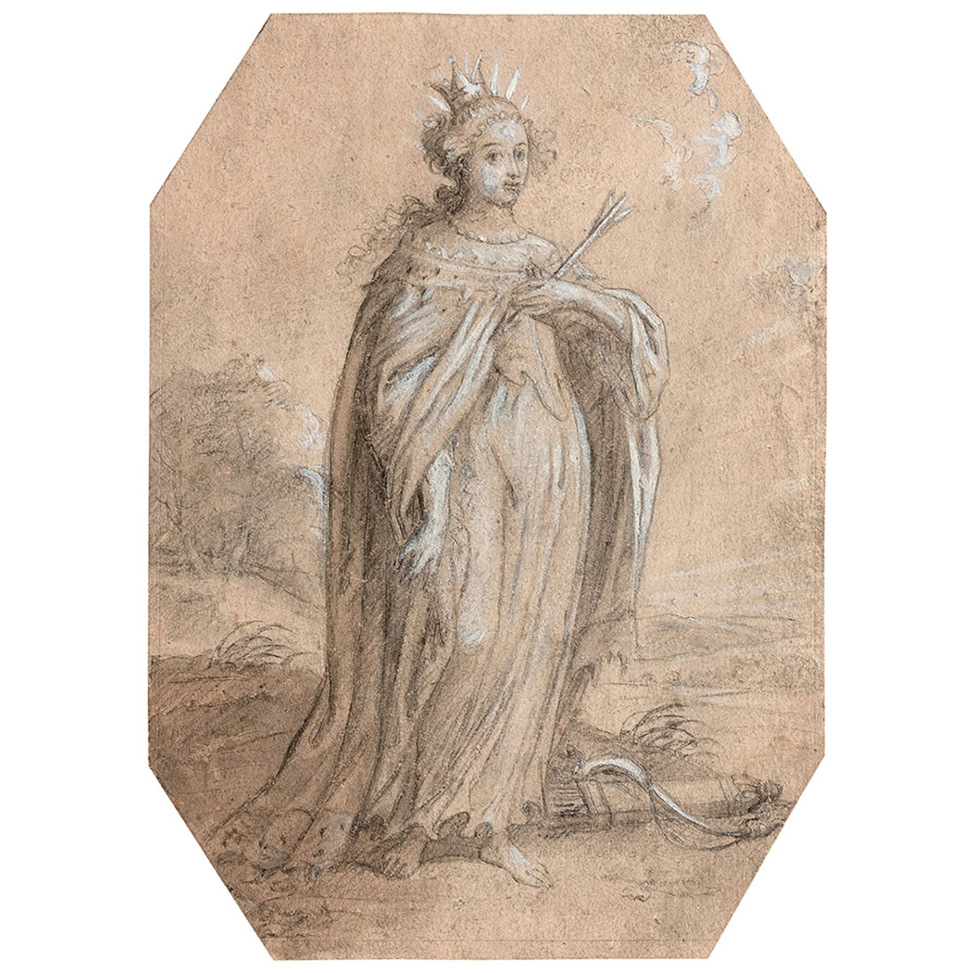 ÉCOLE FLAMANDE DU XVIIe SIÈCLE, ENTOURAGE D'ABRAHAM VAN DIEPENBEECK - Bild 2 aus 3