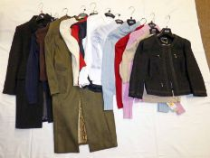 SELECTION OF LADIES COATS, BLAZER,