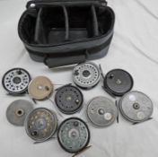 SELECTION OF J W YOUNG REELS TO INCLUDE CONDEX, PRIDEX,