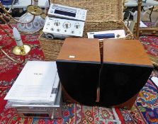 TEAC STEREO CASSETTE DECK RH300, AM/FM STEREO TUNER TH300, COMPACT DISC PLAYER PD-H300,