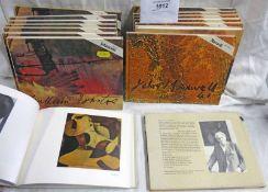 16 VOLUMES MODERN SCOTTISH PAINTERS: WILLIAM JOHNSTONE & JOHN MAXWELL
