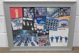 FRAMED PICTURE A BEATLES PRODUCT 2005 APPLE CORPS 49 X 69 CM