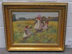 AFTER WILLIAM AFFLECK, GIRLS IN A MEADOW,