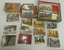 SELECTION OF VARIOUS UK AND WORLDWIDE POSTCARDS TO INCLUDE LANARK, ARBROATH, BRAEMAR,