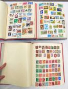 3 STAMP ALBUMS OF VARIOUS MINT AND USED STAMPS OF WORLDWIDE COUNTRIES BEGINNING G-H TO INCLUDE