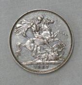 1887 VICTORIA CROWN