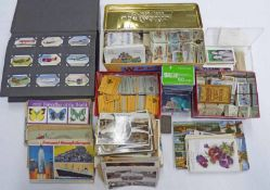 SELECTION OF 2/ - BOOKLETS, TELEPHONE CARDS, CIGARETTE CARDS, POSTCARDS TO INCLUDE TRAINS,