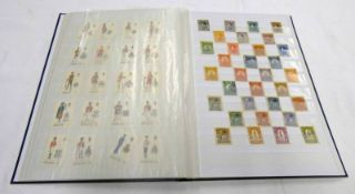 STOCKBOOK OF VARIOUS MINT & USED STAMPS TO INCLUDE SOUTH AFRICA, GIBRALTAR,