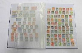 STOCKBOOK OF VARIOUS MINT & USED STAMPS TO INCLUDE DENMARK, VENEZUELA,