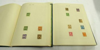 ALBUM OF MINT AND USED STAMPS TO INCLUDE USA, VENEZUELA, SENEGAL,