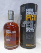 1 BOTTLE PORT CHARLOTTE PC11 SINGLE MALT WHISKY - 700ML, 59.