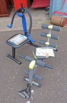 WONDER CORE EXERCISE MACHINE AND AB-DOER EXERCISE MACHINE