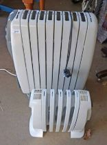 DELONGHI RAPIDO ELECTRIC HEATER HEIGHT 64CM AND DELONGHI ELECTRIC HEATER HEIGHT 38CM