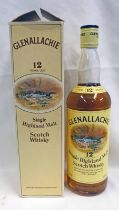 1 BOTTLE GLENALLACHIE 12 YEARS OLD SINGLE MALT WHISKY - 75CL, 40% VOLUME,