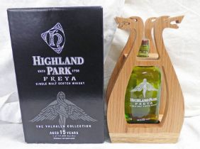 1 BOTTLE HIGHLAND PARK FREYA 15 YEAR OLD SINGLE MALT WHISKY - 700ML, 51.