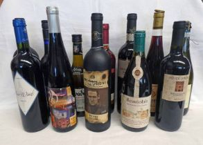 12 MIXED BOTTLES WINE INCLUDING BEAUJOLAIS, RIONE DEI DOGI RIOLISSE RESERVA 2011,