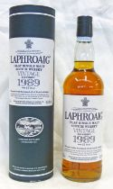 1 BOTTLE LAPHROAIG 17 YEAR OLD 1989 VINTAGE SINGLE MALT WHISKY - 70CL, 50.