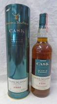 1 BOTTLE GLEN SCOTIA 12 YEAR OLD SINGLE MALT WHISKY, DISTILLED 1992 - 70CL, 61.