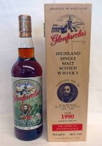 1 BOTTLE GLENFARCLAS 20 YEAR OLD SINGLE MALT WHISKY, DISTILLED 1990, KING MACBETH EDITION - 700ML,