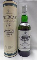 1 BOTTLE LAPHROAIG 10 YEAR OLD SINGLE ISLAY MALT WHISKY - 70CL, 40% VOLUME,