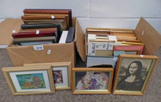 2 BOXES OF VARIOUS PRINTS,