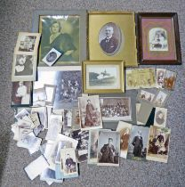 SELECTION OF VARIOUS 19TH & EARLY 20TH CENTURY PHOTOGRAPHS INCLUDING ONE BY DUNDEE PHOTOGRAPHIC