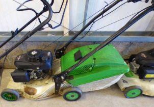 "18"" ETESIA PRO 46 PHCS LAWNMOWER WITH GRASSBOX - PLUS VAT"