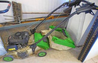 "18"" ETESIA PRO 46 LAWNMOWER WITH GRASSBOX - PLUS VAT Condition Report: Sold as seen"