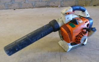 STIHL HAND HELD BLOWER SH86C- PLUS VAT Condition Report: please note model number