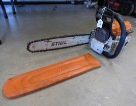 "STIHL 15"" MS261 CHAINSAW - PLUS VAT Condition Report: Sold as seen with no"