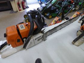 STIHL CHAINSAW MS660 - PLUS VAT Condition Report: please note model number change to