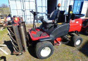 TORO LT 3340 TRIPLE CYLINDE RIDE-ON LAWNMOWER WITH DROP DOWN GANGS (SP16 BCY) - PLUS VAT