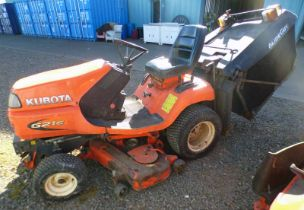 KUBOTA G21E RIDE ON MOWER + GRASS BOX (SP14 BPF) - PLUS VAT Condition Report: Sold