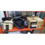 JVC GR-AX600 VHS CAMCORDER, FERGUSON PRO 8 220,