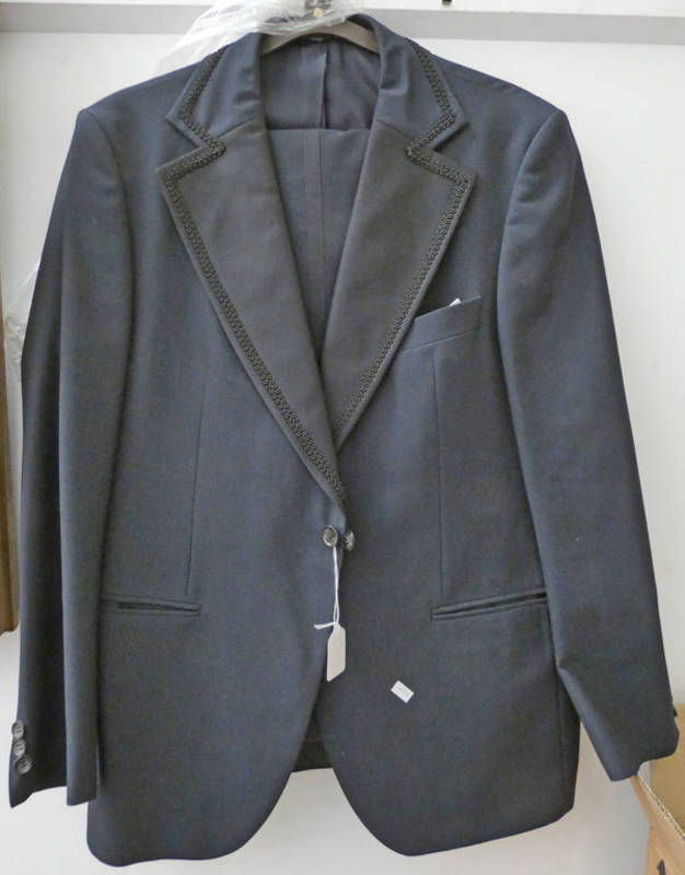 ALEX S MURRAY TUXEDO JACKET AND TROUSERS