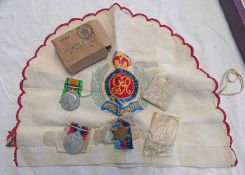 WW2 MEDALS TO INCLUDE ITALY STAR, 1939-45 STAR,