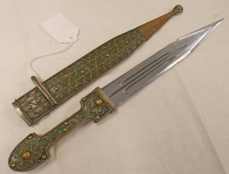 MIDDLE EASTERN KNIFE WITH 21.
