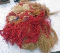 EX RICHARD BARRON COLLECTION, SOLOMAN ISLANDS GRASS SKIRT,