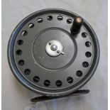 """HARDY THE """"ST GEORGE"""", 3 3/4 INCH ALLOY FLY REEL, AGATE LINE GUIDE,"""