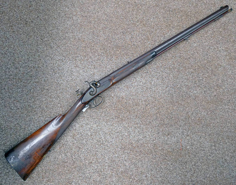 40 BORE (.500) PERCUSSION SPORTING RIFLE WITH 71.