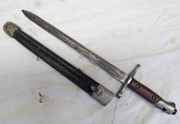 ITALIAN M1891 BAYONET WITH 31.