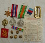 WW2 MEDALS TO INCLUDE 1939-45 STAR, WAR MEDAL,