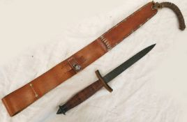 COPY OF V42 DAGGER WITH ITS DISTINCTIVE SCABBARD