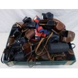 SELECTION OF EMPTY CAMERA & LENS CASES