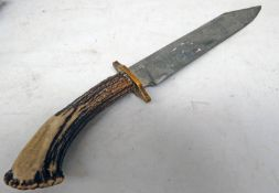 BOWIE STYLE KNIFE WITH 24.