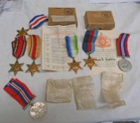 JAMES DUFFES ROBBIE CHIEF ENGINEERING OFFICER MERCHANT NAVY, WW2 MEDALS, FRANCE AND GERMANY STAR,