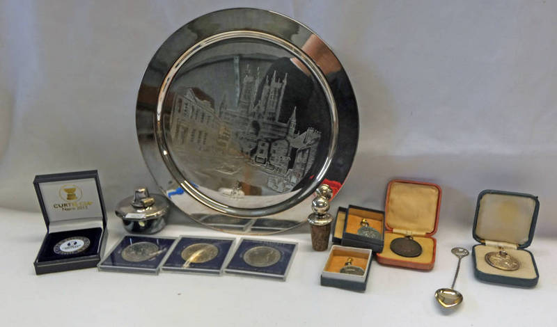 ROYAL LIFE SAVING SILVER & BRONZE MEDALS FOR 1932 & 1931,